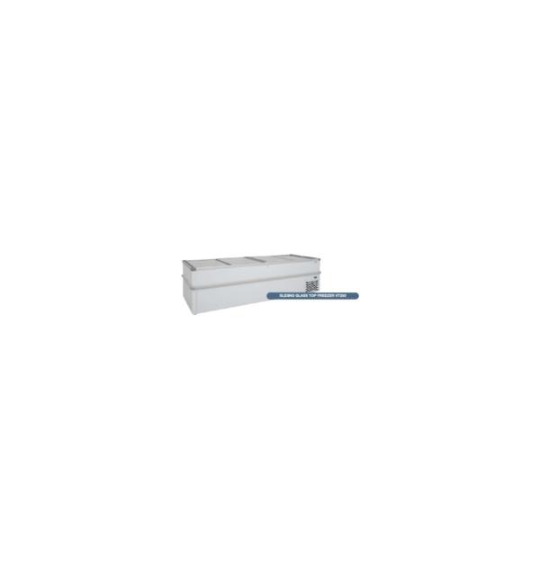 Sliding Glass Top Chest Freezer - VT250